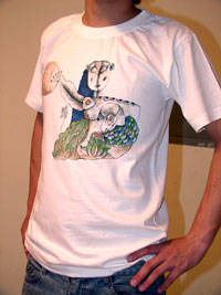 Wear Art: Hand Painted T-Shirts