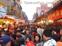 Chinese New Year Shopping Streets