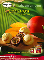 Haagen-Dazs Limited Edition Mango & Passion Fruit