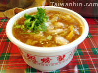 Shark's Fin & Crab Thick Soup, Wulu Steamed Shrimp Meat Balls