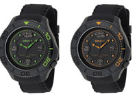 "DKNY's Spring/Summer Men's ""Just Black"" Watch Collection"