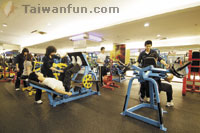 Las Vegas comes to World Gym in Taichung