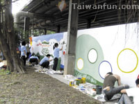The first food waste recycling area in Taiwan: Taichung City's Yu Le Yuan
