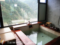 Day-tripping to the Taian hot springs