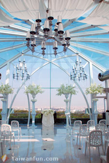 Golf Love Landscape Wedding Hall