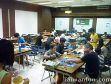 Indoor enjoyment: Tabletop gaming takes off in Taichung