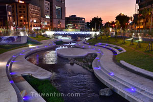 The reemergence of Taichung's famed Liuchuan Canal